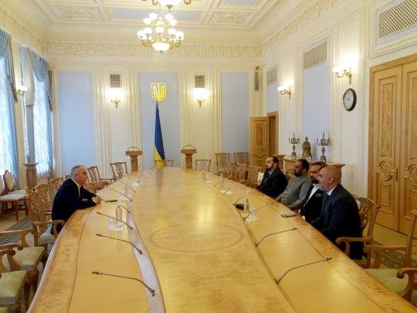 Голова Комітету з питань свободи слова Нестор Шуфрич провів зустріч з офіційною делегацією Сенату Ісламської Республіки Афганістан