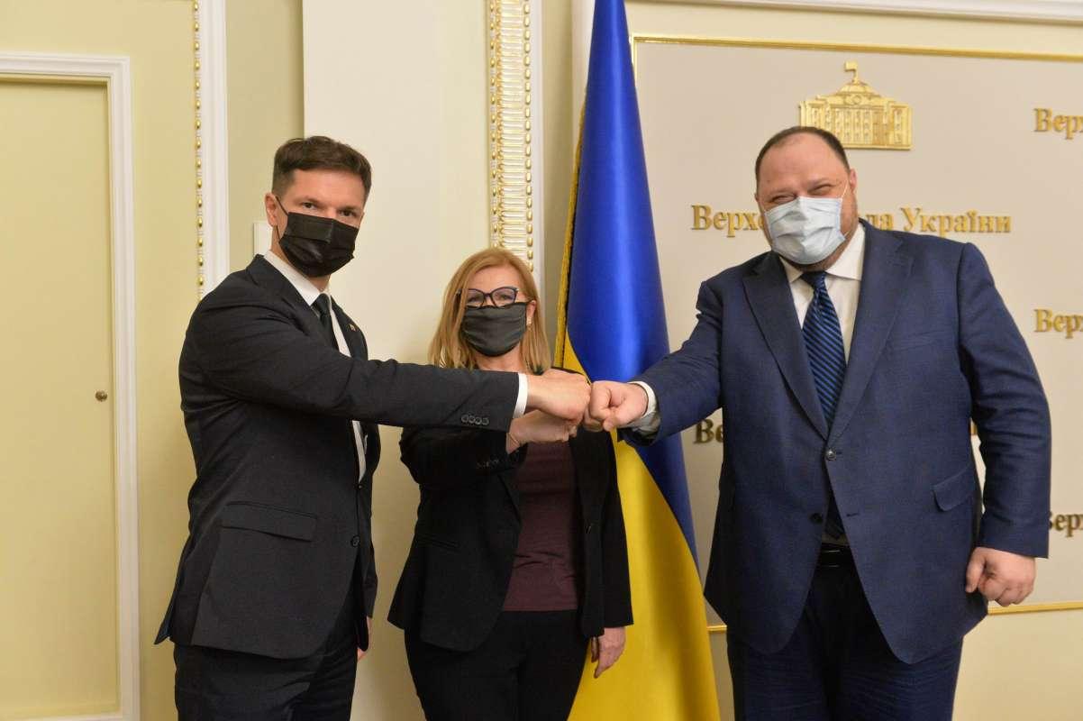 Руслан Стефанчук: Розраховуємо на вплив Польщі та Литви в питанні отримання Україною членства в НАТО